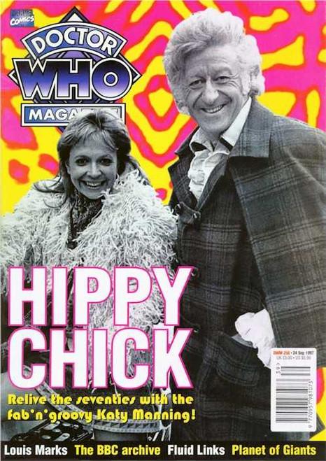 Doctor Who Magazine #256