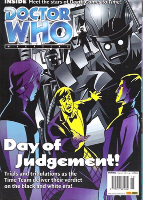 Doctor Who Magazine #316