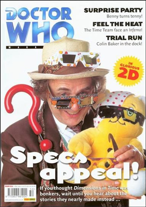 Doctor Who Magazine #324