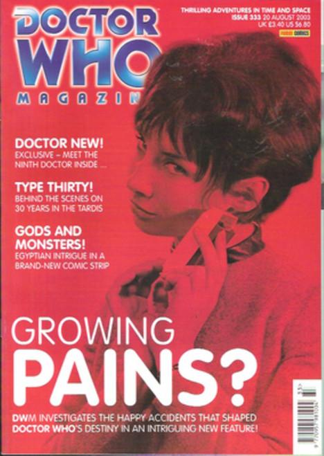 Doctor Who Magazine #333
