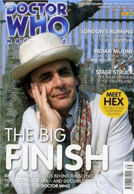 Doctor Who Magazine #339