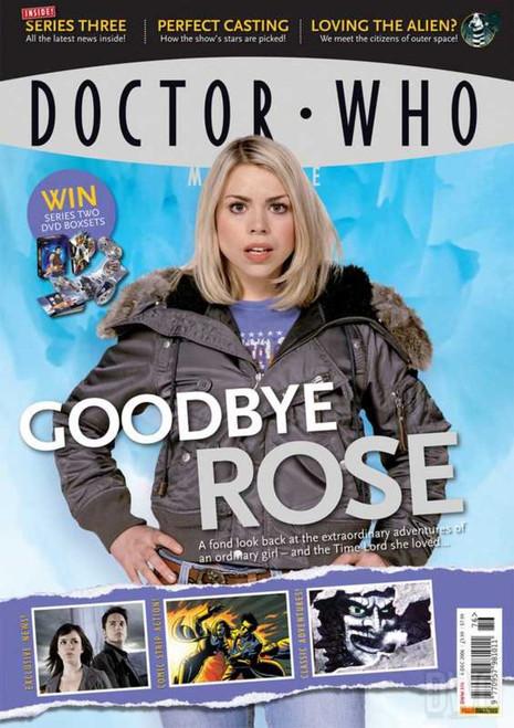 Doctor Who Magazine #376