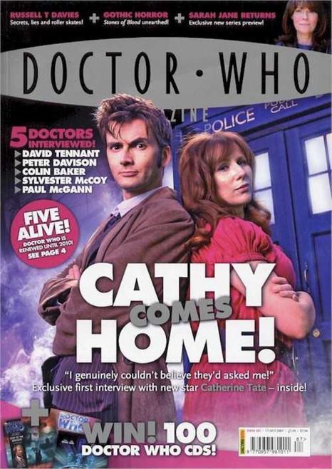 Doctor Who Magazine #387