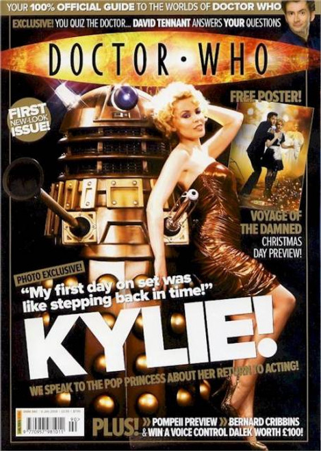 Doctor Who Magazine #390
