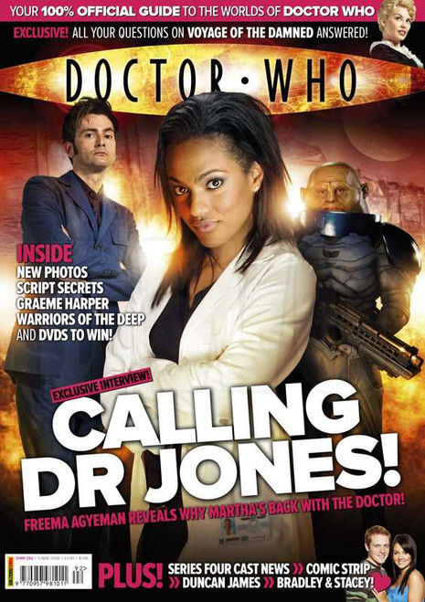 Doctor Who Magazine #392