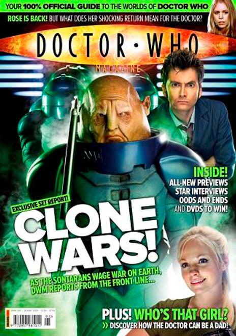 Doctor Who Magazine #395