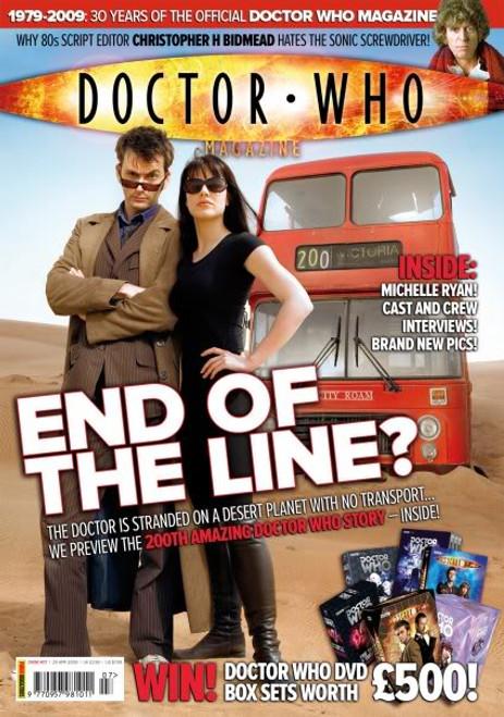 Doctor Who Magazine #407