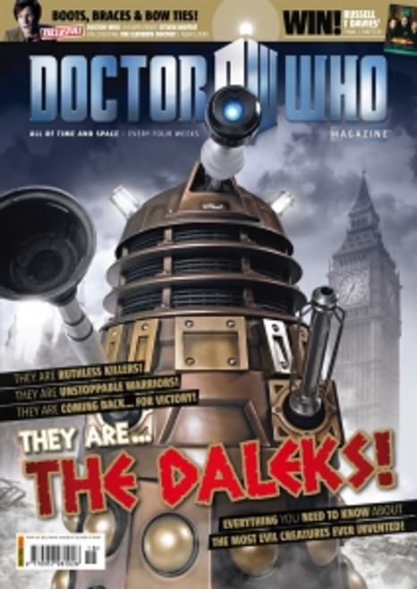 Doctor Who Magazine #418