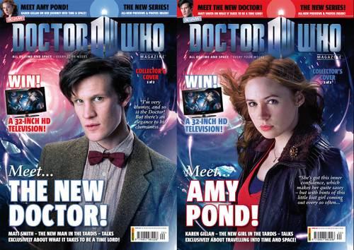 Doctor Who Magazine #420 Two Alternate Covers!