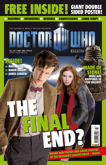Doctor Who Magazine #423