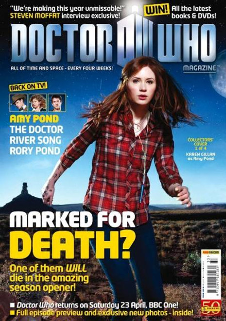 Doctor Who Magazine #433 Four Alternative Covers