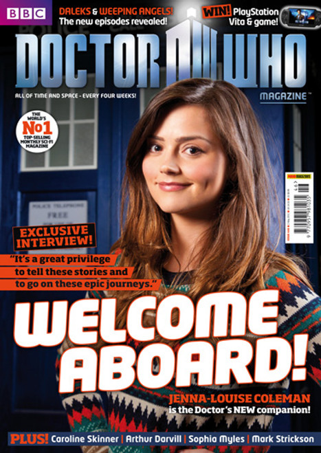 Doctor Who Magazine #446 - Jenna-Louise Coleman