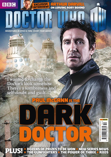 Doctor Who Magazine #454 - Paul McGann - The Dark Doctor!