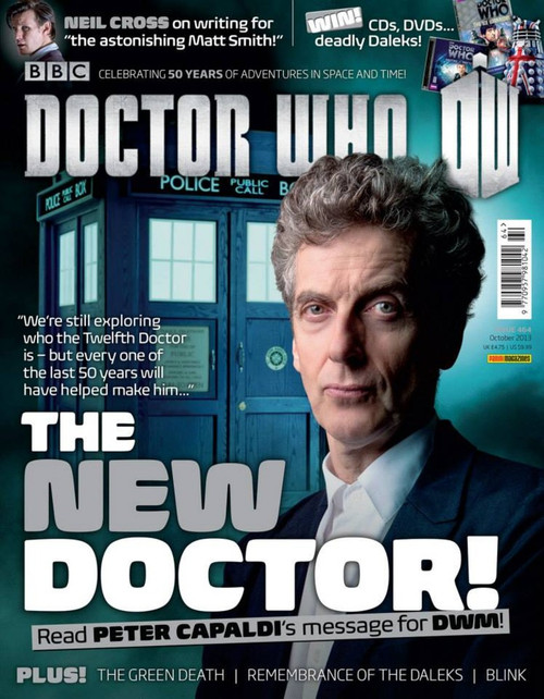 Doctor Who Magazine #464 - Peter Capaldi - The New Doctor!