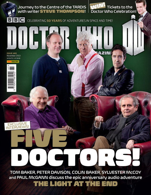 Doctor Who Magazine #465 - 5 Doctors! LIGHT at the END