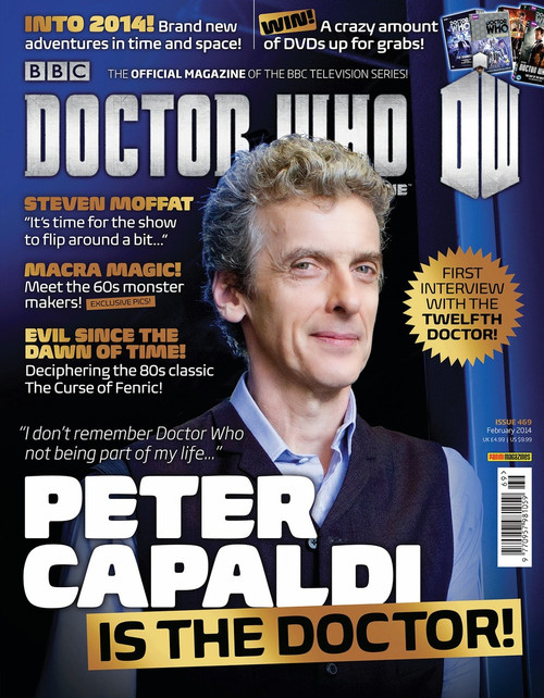 Doctor Who Magazine #469 (First Interview with Peter Capaldi)