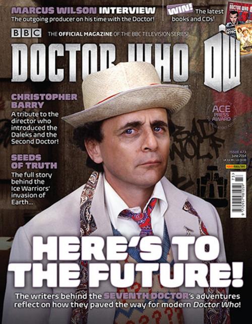 Doctor Who Magazine #473 - The 7th Doctor's (Sylvester McCoy) Era
