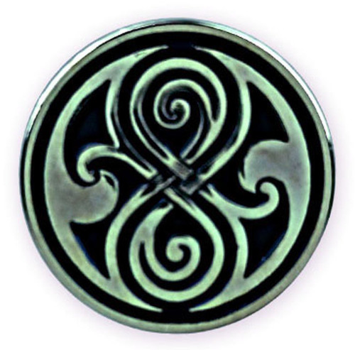 Seal of Gallifrey (Rassilon) Pin