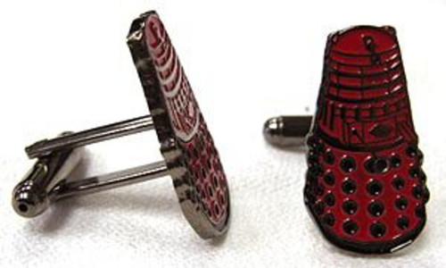 Red Dalek Cufflinks