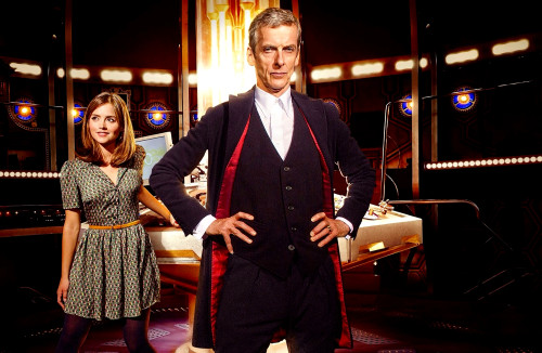 The 12th Doctor with Clara Print