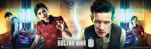 "Centre of the TARDIS Poster 11.75"" X 36"""