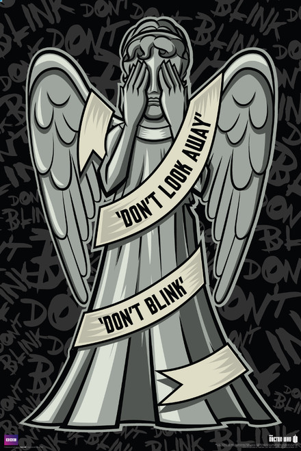 "Weeping Angels Poster 24"" X 36"""