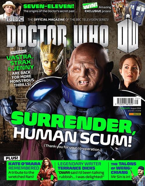 Doctor Who Magazine #475 - Vastra, Strax & Jenny Interviews