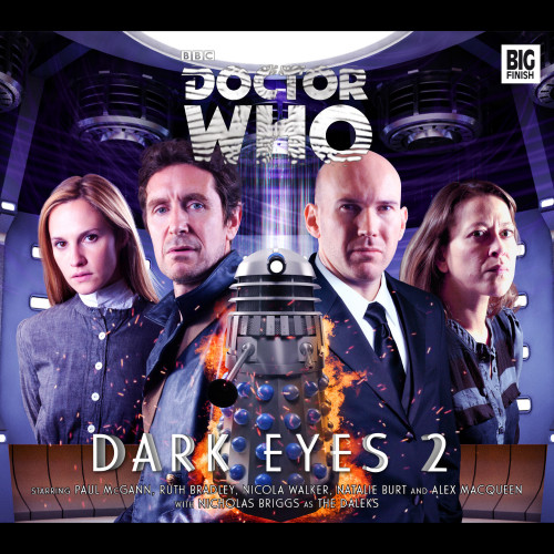 Doctor Who DARK EYES Eighth Doctor (Paul McGann) Audio Drama Boxed Set #2 from Big Finish