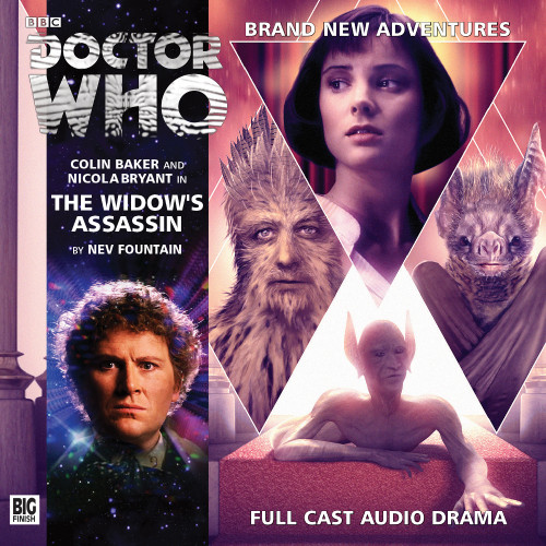 The Widow's Assassin Audio CD - Big Finish #192