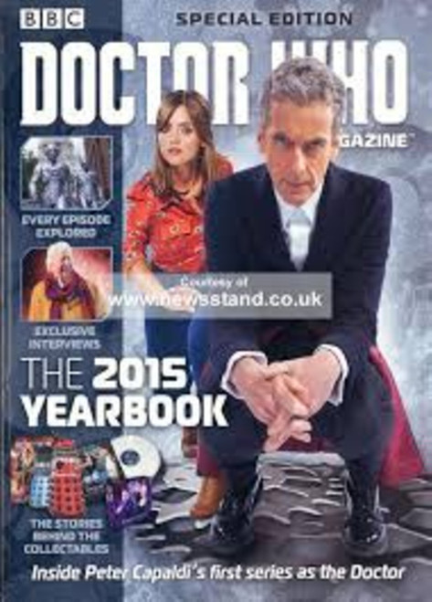 Doctor Who Special Magazine #39 The 2015 Yearbook