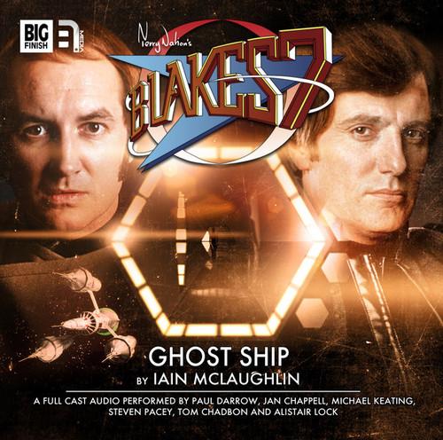 Big Finish Blake's 7: Ghost Ship Audio CD #2.4