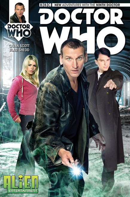 9th Doctor Titan Comics #1 - (Alien Entertainment EXCLUSIVE)