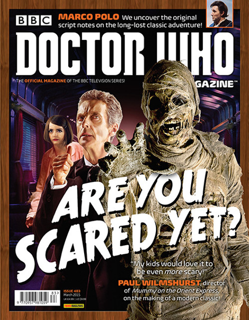 Doctor Who Magazine #483 - Are You Scared Yet?