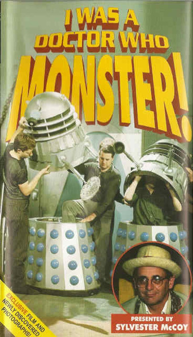 I was a Doctor Who Monster! - Reeltime Productions DVD