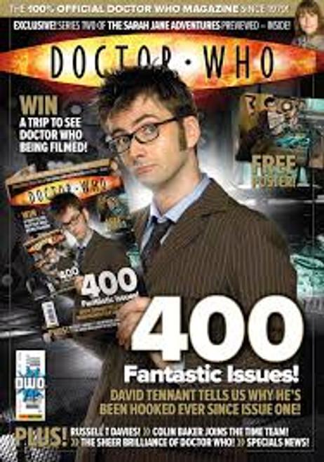 Doctor Who Magazine #400