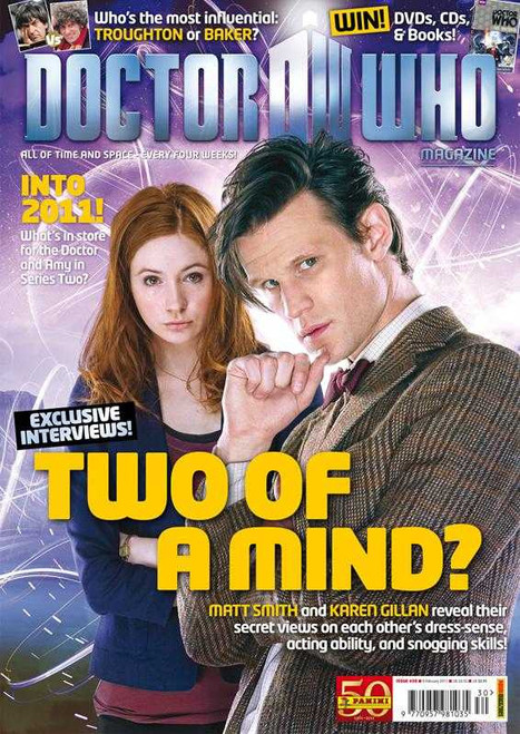 Doctor Who Magazine #430