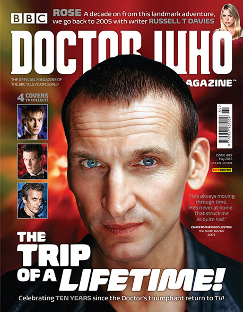 Doctor Who Magazine #485 - Trip of a Lifetime (4 Cover Variants!)