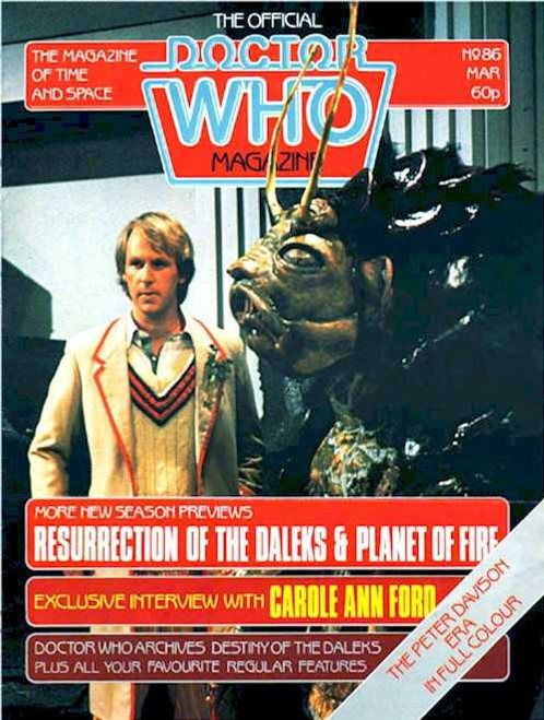 Doctor Who Magazine #86