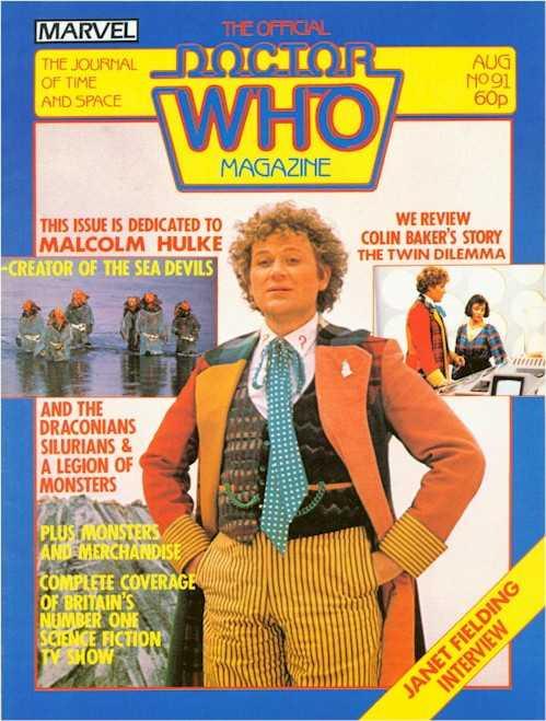 Doctor Who Magazine #91