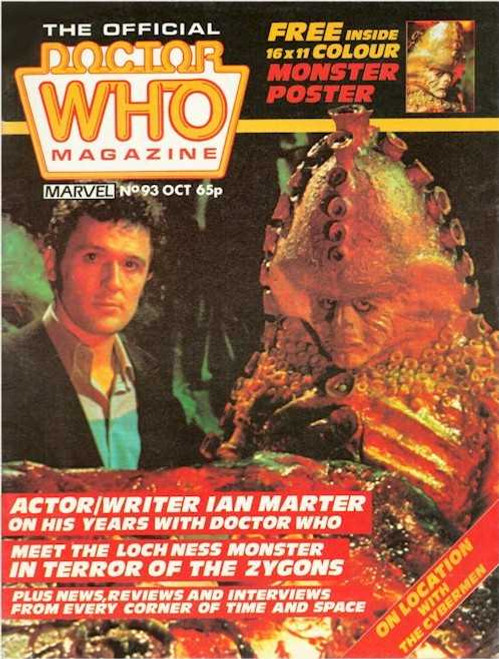 Doctor Who Magazine #93