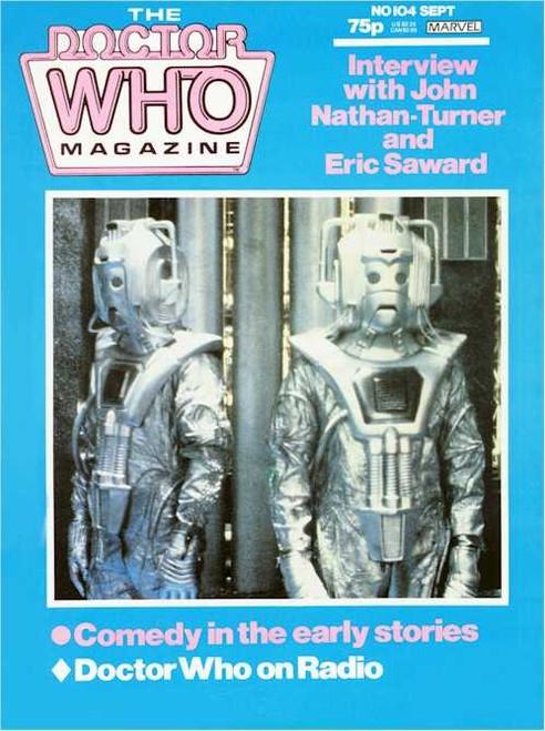 Doctor Who Magazine #104