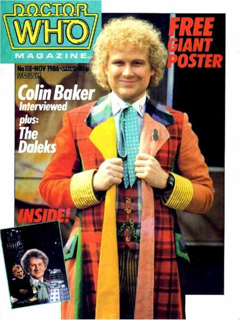 Doctor Who Magazine #118