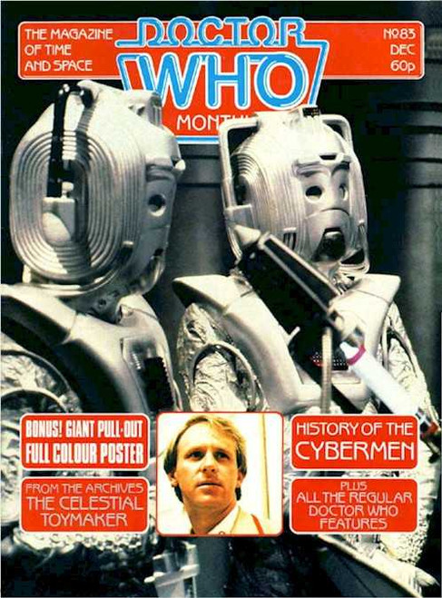 Doctor Who Magazine #83