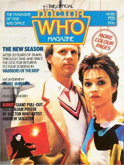 Doctor Who Magazine #85