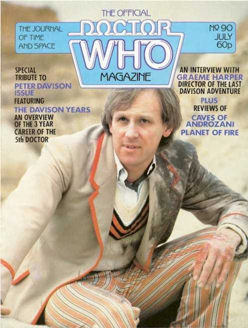 Doctor Who Magazine #90