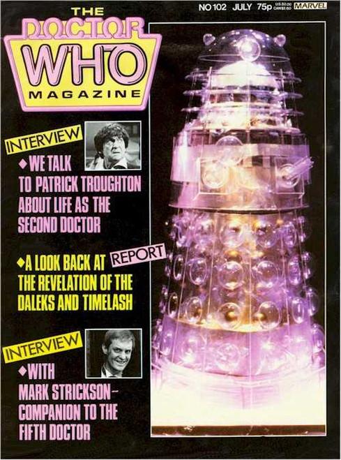 Doctor Who Magazine #102