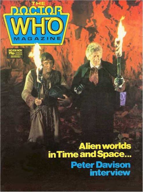 Copy of Doctor Who Magazine #102