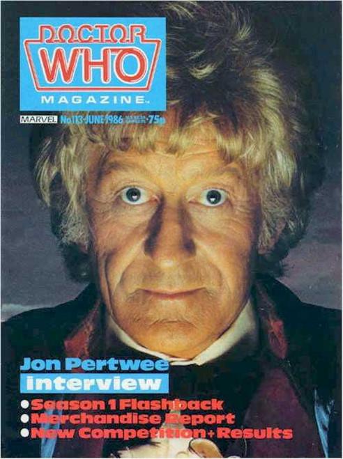 Doctor Who Magazine #113