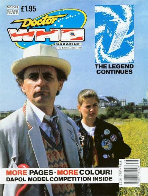 Doctor Who Magazine #168