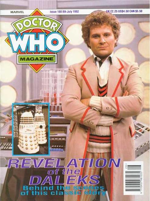 Doctor Who Magazine #188